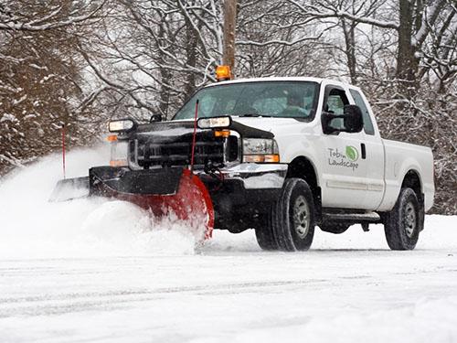 Tobin Landscape Snow Removal